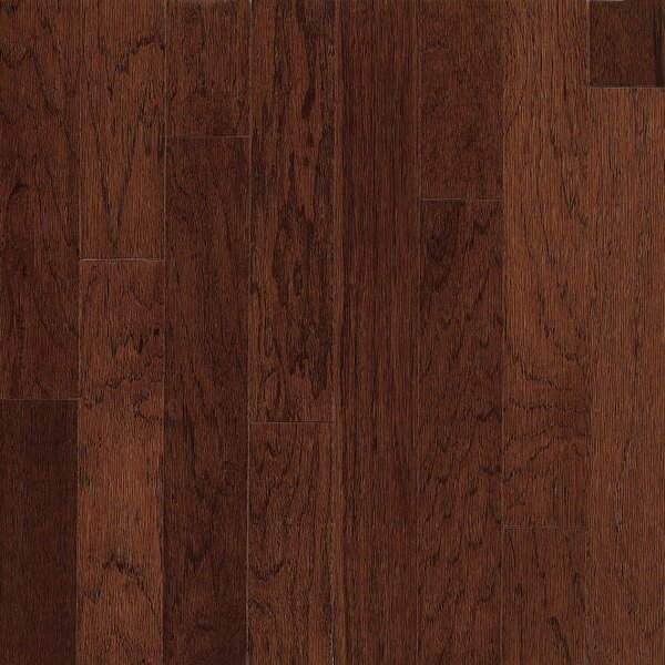 Turlington 5 Engineered Hickory Hardwood Flooring in Paprika by Bruce Flooring