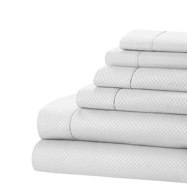 Aylin Checkered 4 Piece Sheet Set by Zipcode Design