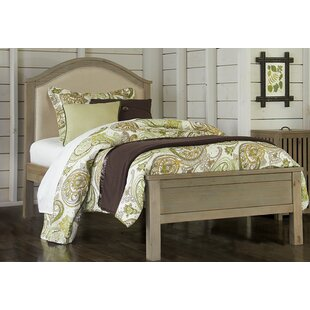 Timberville Upholstered Bed By Greyleigh