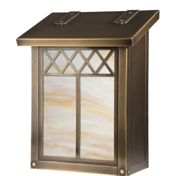Window Locking Wall Mounted Mailbox by America's Finest Lighting Company