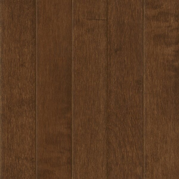 Prime Harvest 5 Solid Maple Hardwood Flooring in Hill Top Brown by Armstrong Flooring