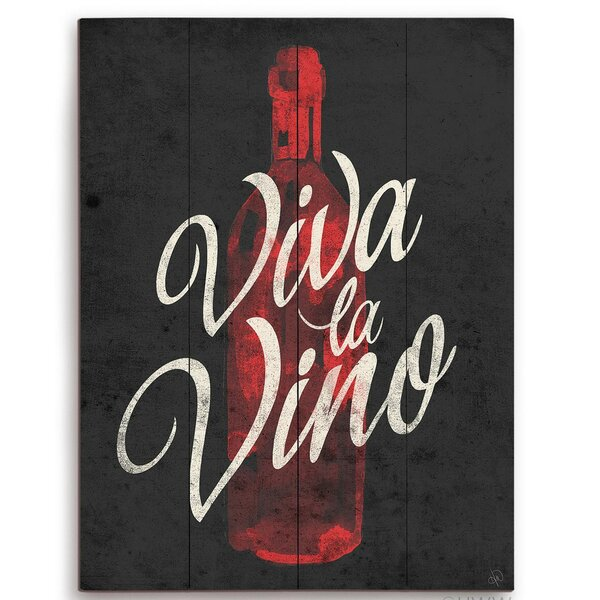 Viva La Vino Painting Print by Click Wall Art