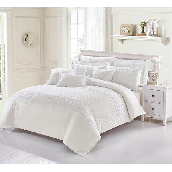 Damarion 100% Pure Cotton 7 Piece Duvet Cover Set
