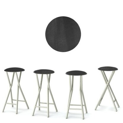 Chalk Board 30'' Patio Bar Stool (Set of 4) by Best of Times