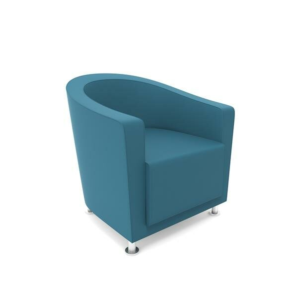 Jenny Round Lounge Chair by Steelcase