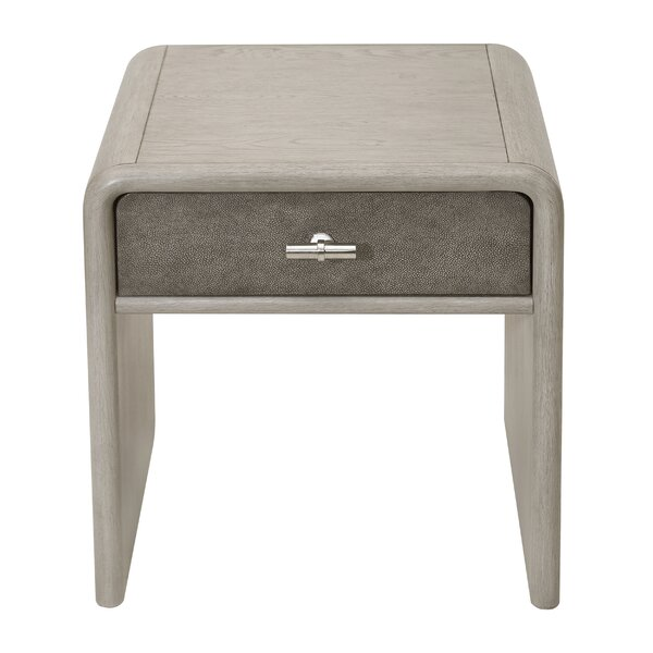Cashel End Table with Storage by Union Rustic Union Rustic