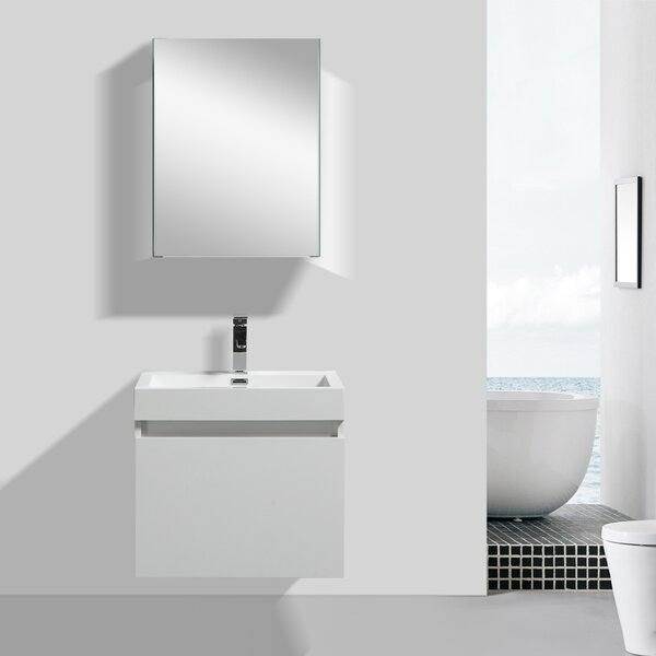 Finnigan Modern 24 Single Bathroom Vanity Set by Orren Ellis