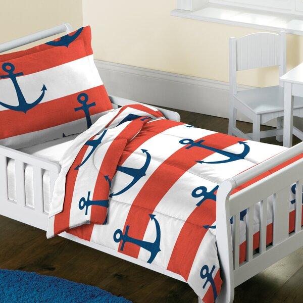 Adilynn 2 Piece Toddler Bedding Set by Breakwater Bay