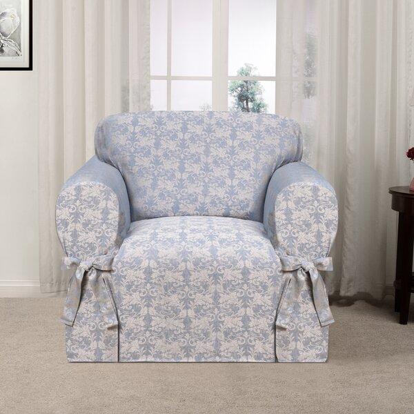 Box Cushion Armchair Slipcover By Astoria Grand