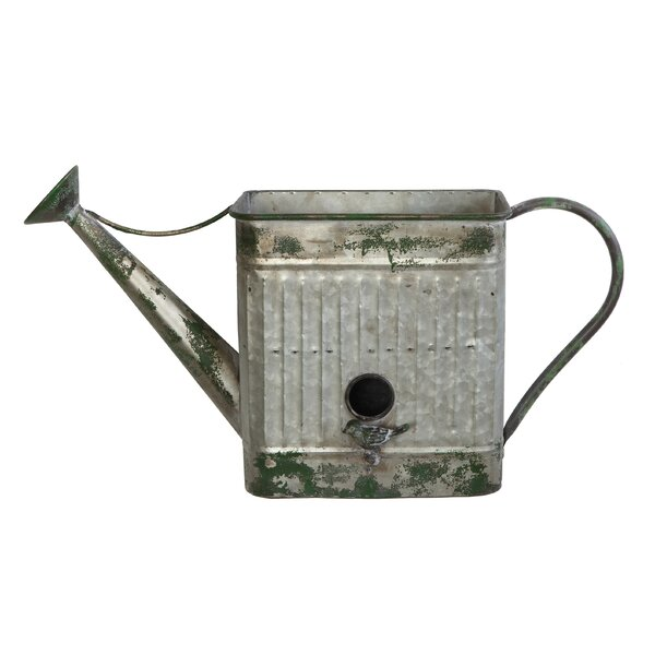 Watering Can Bird Feeder by Creative Co-Op