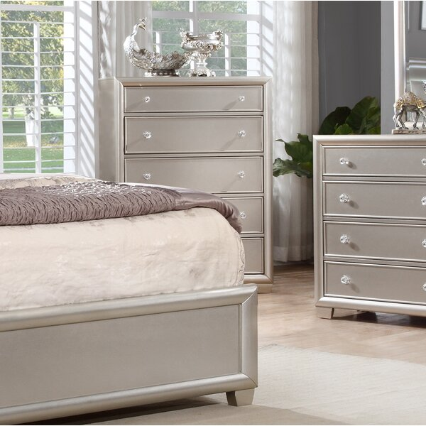 Chumley 5 Drawer Chest by House of Hampton