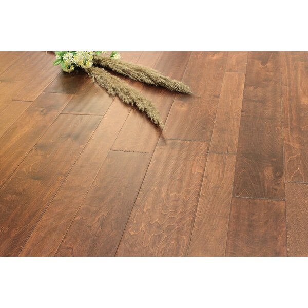 Random Width Engineered Birch Hardwood Flooring in Tango by Albero Valley