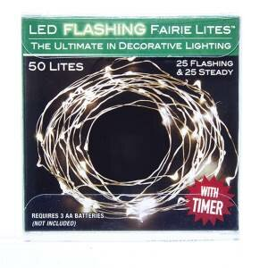 Battery-Operated UL 50 Light String Lighting by Kurt Adler