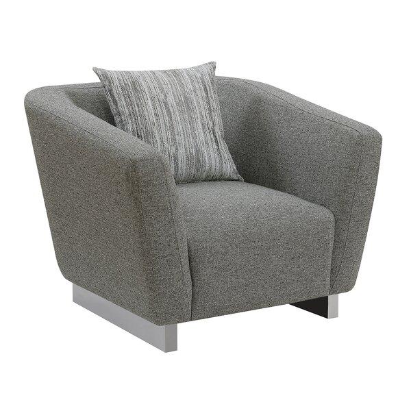 Lafon Barrel Chair by Orren Ellis