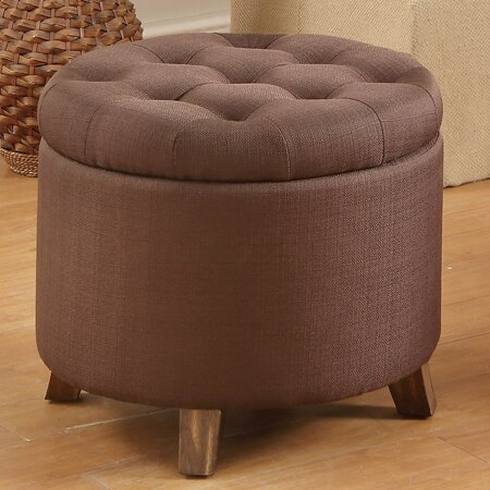 Macsen Tufted Storage Ottoman by Andover Mills