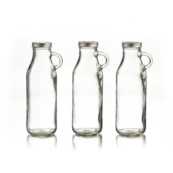 32.3 oz. Milk Bottle (Set of 3) by Style Setter