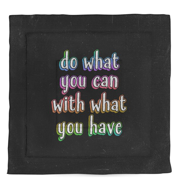 Do What You Can Single Reversible Comforter
