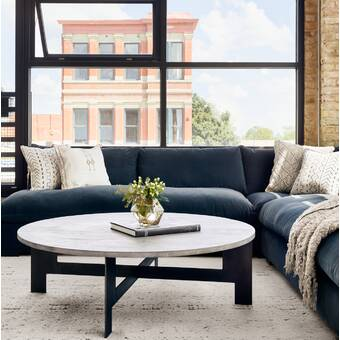 Round Coffee Table With Iron Reviews Joss Main