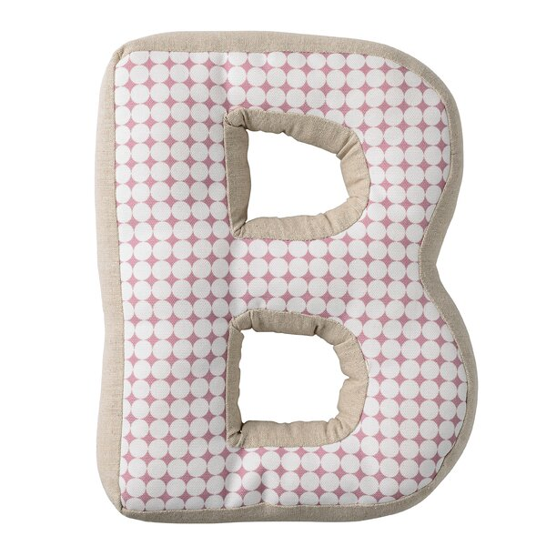 Quintin B with Pattern Cotton Throw Pillow by Viv + Rae