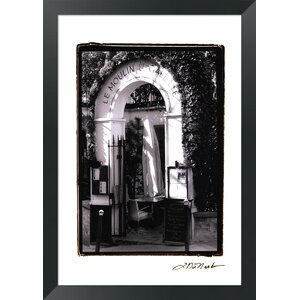 Cafe Charm, Paris III by Laura Denardo Framed Photographic Print by Evive Designs