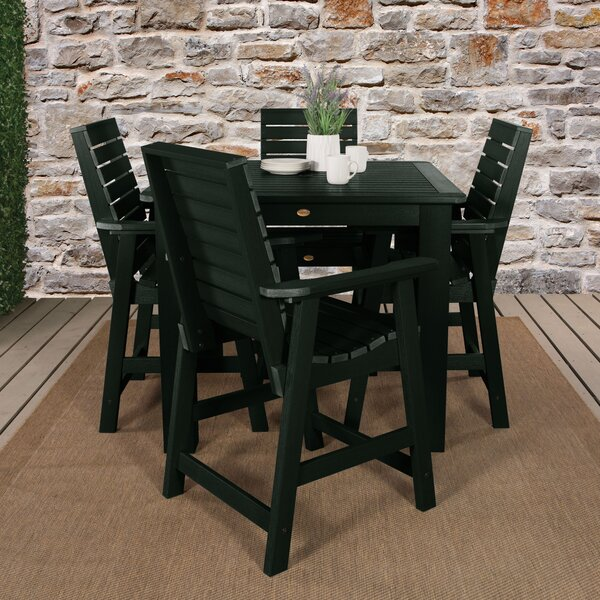 Trigg 5 Piece Bar Dining Set by Darby Home Co