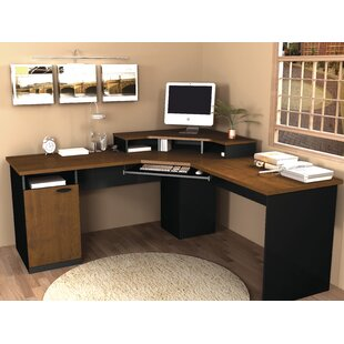 Deals Hampton L-Shape Computer Desk By Bestar