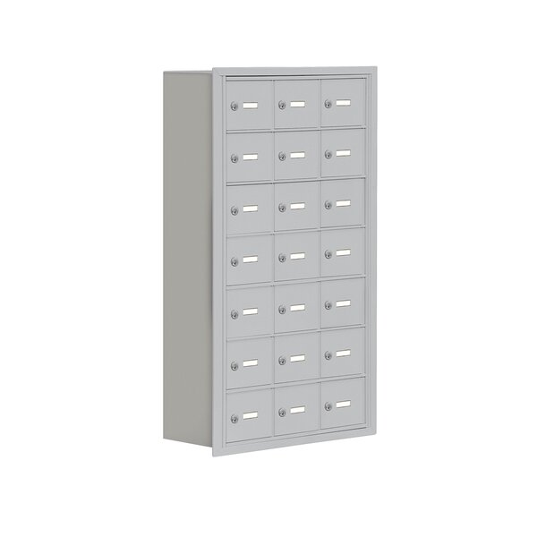 21 Door Recessed Cell Phone Locker by Salsbury Industries