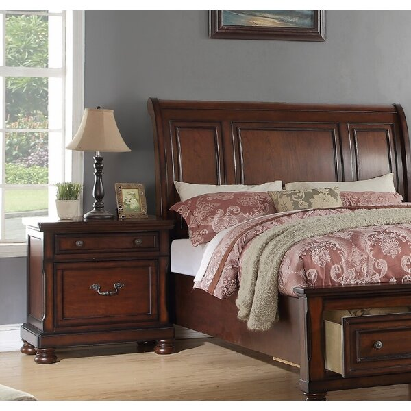 Cheadle 2 Drawer Nightstand by Canora Grey
