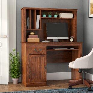 Inexpensive Hanlon Computer Desk with Hutch ByAlcott Hill