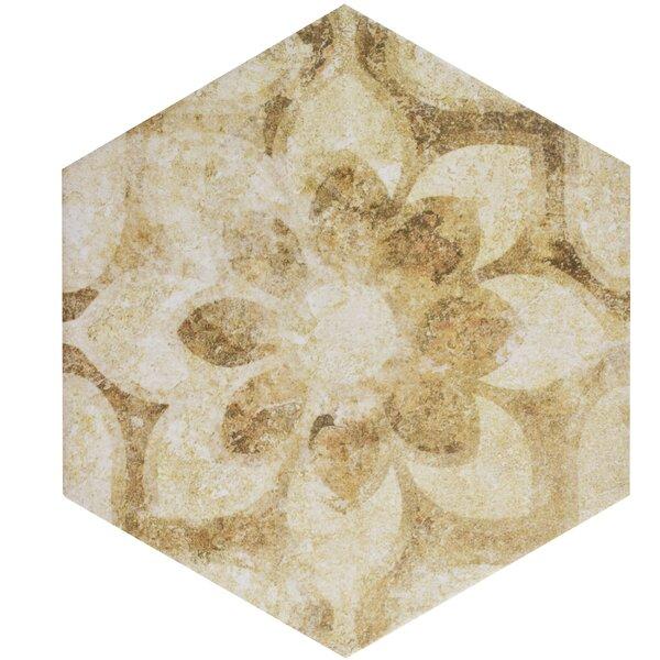 Roche 8.63 x 9.88 Porcelain Field Tile in Brown by EliteTile