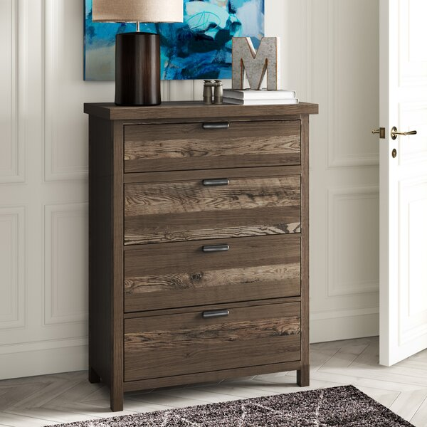 Strasburg 4 Drawer Chest by Greyleigh