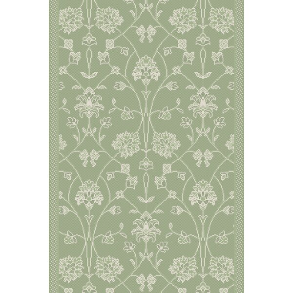 Featherston Power Loom Green Rug