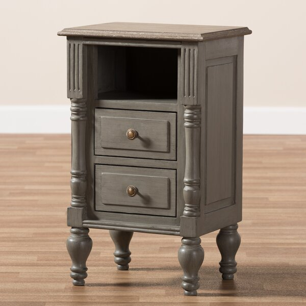 Lawanda 2 Drawer Nightstand By Darby Home Co