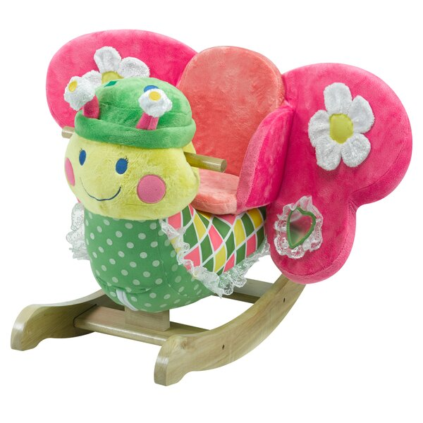 Bonita Butterfly Rocker by Rockabye