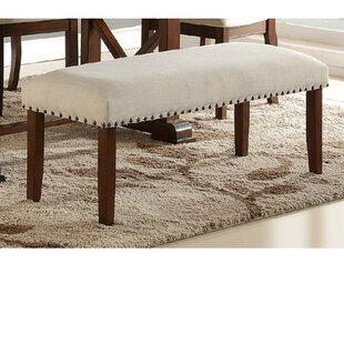 Rowsey Rubber Wood Bench Good purchase
