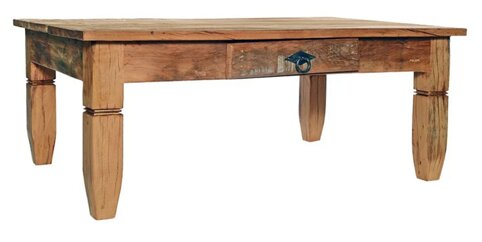 Leblon Coffee Table by Alexandra Sophia Reclaimed