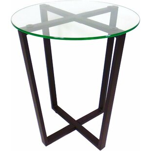 Best Price Metro Glass End Table By Mango Steam