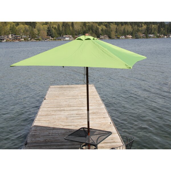 Destination Gear 6.5' Square Market Umbrella by Heininger Holdings LLC