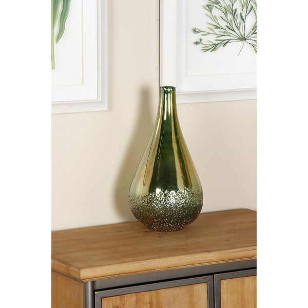 Hillier Eclectic Glass Table Vase by Wrought Studio