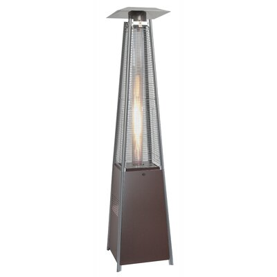 AZ Patio Heaters Tall 40,000 BTU Propane Patio Heater & Reviews ...
