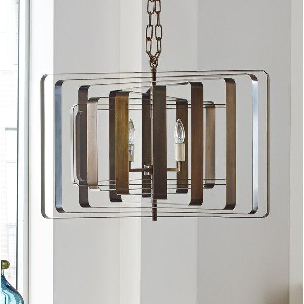 Figuaro 6-Light Unique / Statement Geometric Chandelier By Corrigan Studio