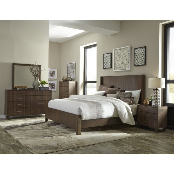 Janine Queen Standard Bed Configurable Bedroom Set by Wrought Studio