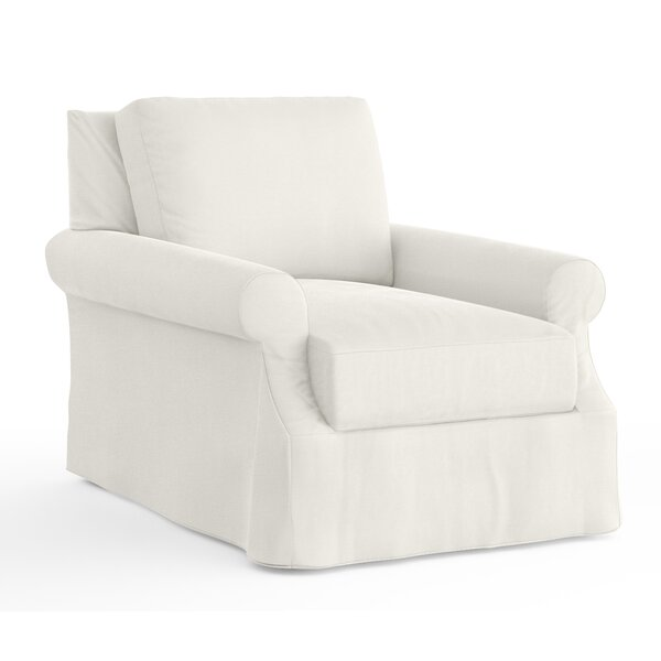 Donato Slipcovered Armchair by Red Barrel Studio