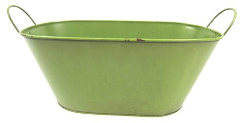 Apostol Oval Metal Beverage Tub by August Grove