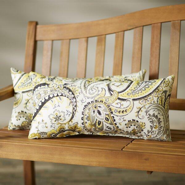 Frosses Outdoor Lumbar Pillow (Set of 2) by Alcott Hill