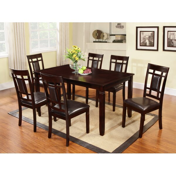 Delphos 7 Piece Dining Set by Winston Porter