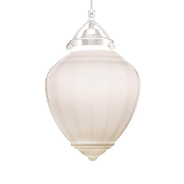 Mirabel 1-Light  LED Schoolhouse Pendant by WAC Lighting