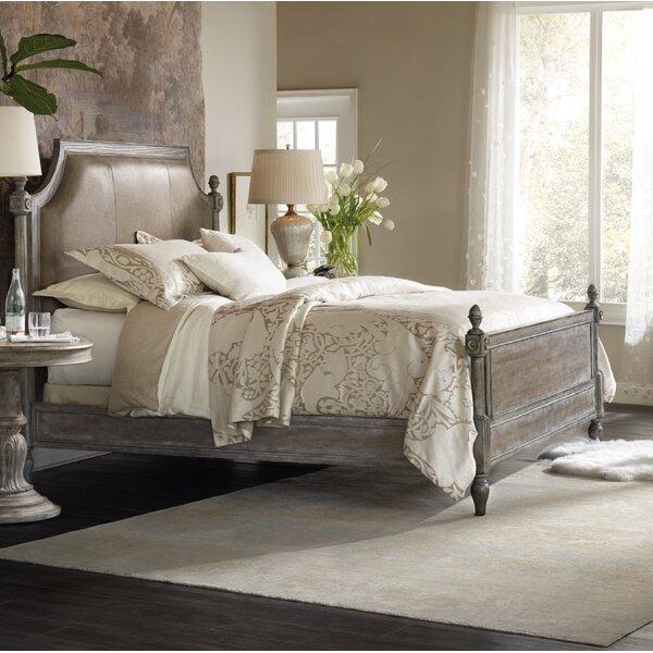 True Vintage King Upholstered Panel Bed by Hooker Furniture