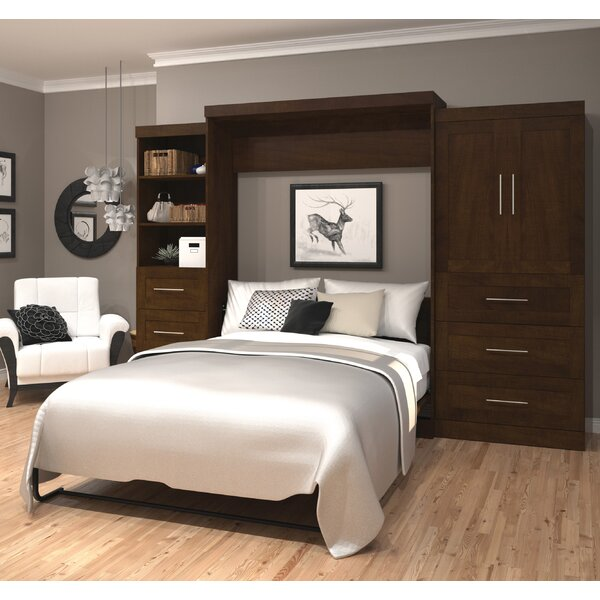 Circe Storage Murphy Bed by Beachcrest Home Beachcrest Home