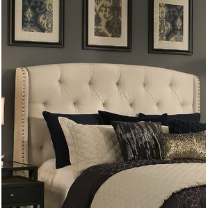 Chenery Upholstered Wingback Headboard with Tufted Bench by Darby Home Co